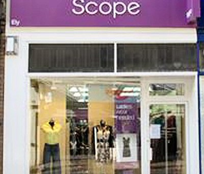 Scope - Charity Shop