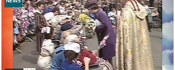 The Queen In Ely 1987